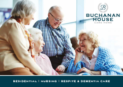 Buchanan House Care Home Web Brochure